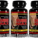 Manhood Max™3 LOT MANHOOD MAX PENIS SIZE ENLARGEMENT & SEX STAMINA