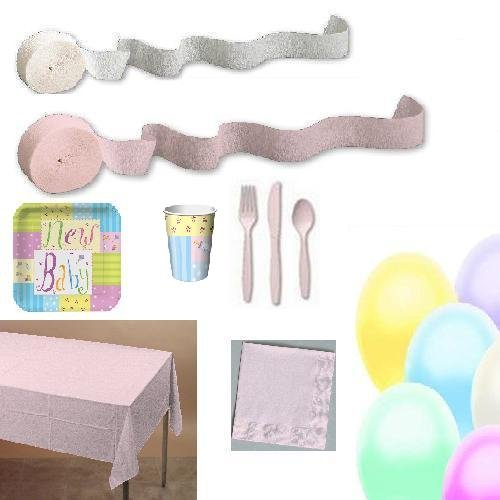 Basic party kit - New Baby patern