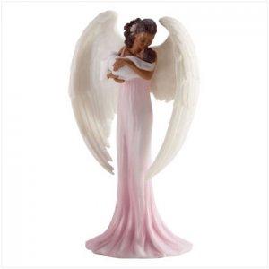 Elegant Angel with Infant
