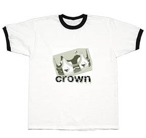 Crown Logo Ringer Tee