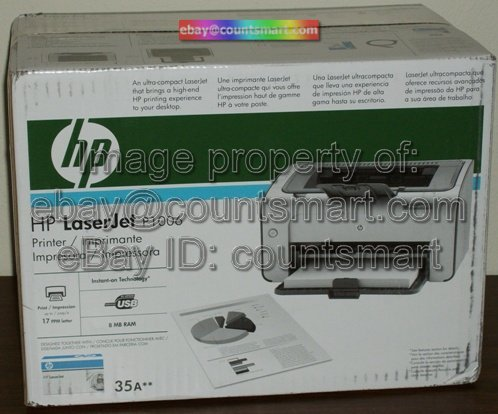 NEW HP LaserJet P1006 17ppm Laser Printer +FREE USB