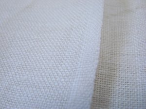 Vintage Linen Fabric Cloth 52 x 84 Unused GC Off White