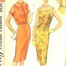 Sewing Pattern Vintage 50s 60s Dress Sheath Jacket B36