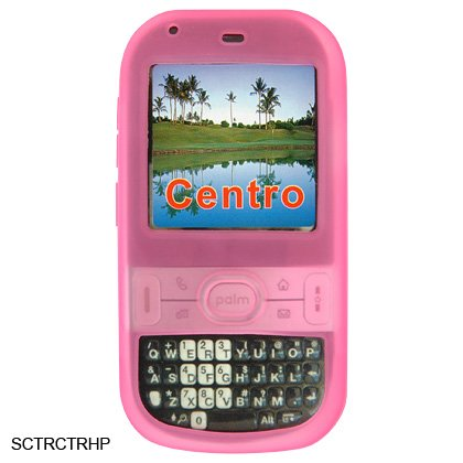 Pink Silicone Skin Cover Case for Palm Centro