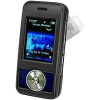 BLACK Hard Shell Shield Protector ProGuard Case for LG Chocolate 2 VX8550