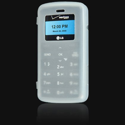 Silicone Skin Cover Case for LG VX9100 enV2 - Clear