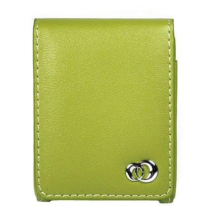 BASIC GREEN Flip Cover Belt Clip Case for Apple iPod Nano (3rd Gen)