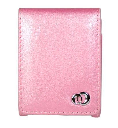 METALLIC PINK Flip Cover Belt Clip Case for Apple iPod Nano (3rd Gen)