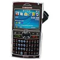 Samsung BlackJack II SGH-i617 Clear Hard Shield Protector Case w/ Detachable Clip