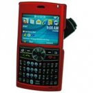Samsung BlackJack II SGH-i617 Red Hard Shield Protector Case w/ Detachable Clip