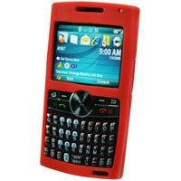 Samsung BlackJack II SGH-i617 Red Silicone Case