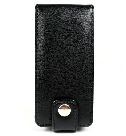 Leather Pouch Case for Microsoft Zune 4GB / 8GB - Black