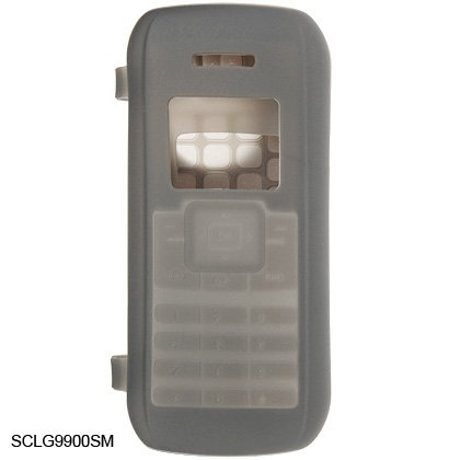 Silicone Skin Cover Case for LG enV VX9900 - Gray