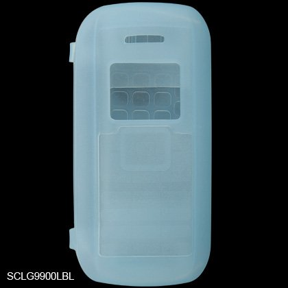 Silicone Skin Cover Case for LG enV VX9900 - Light Blue