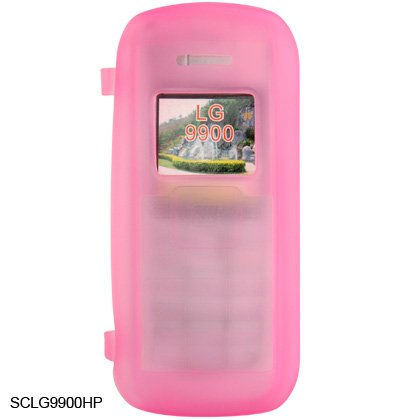 Silicone Skin Cover Case for LG enV VX9900 - Pink