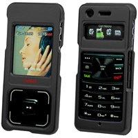Samsung UpStage M620 Black Hard Plastic Proguard Shield Protector Case