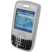 Soft Rubber Silicone Skin Cover Case for Palm Treo 680 Cell Phone - WHITE
