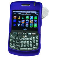 Hard Shell Plastic Shield Protector Case for RIM BlackBerry 8330 CURVE - BLUE