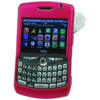 Hard Shell Plastic Shield Protector Case for RIM BlackBerry 8330 CURVE - PINK