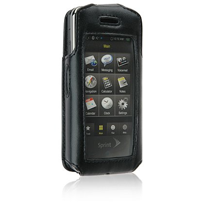PREMIUM Elite Leather Fitted Case for SAMSUNG INSTINCT M800 Cell Phone