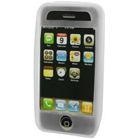 Silicone Rubber Jelly Case for Apple iPhone 3G - CLEAR