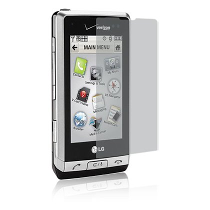 Clear Screen Protector for LG Dare VX9700 - Transparent
