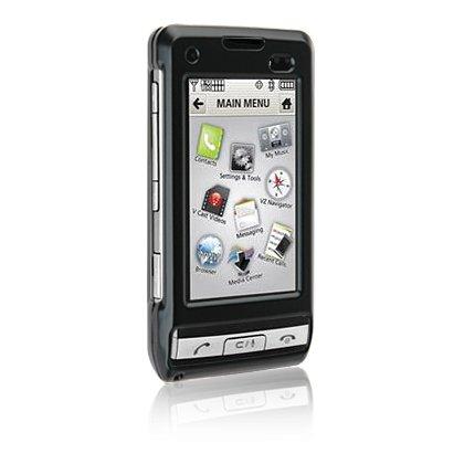 Hard Plastic Shield Protector Faceplate Case for LG DARE VX-9700 - BLACK