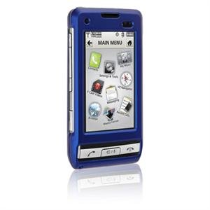 Hard Plastic Shield Protector Faceplate Case for LG DARE VX-9700 - BLUE