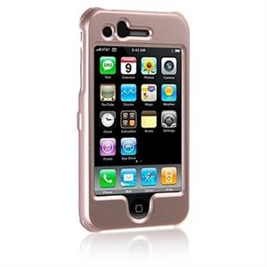 Hard Plastic Shield Protector Faceplate Case for Apple iPhone 3G - BLUSH