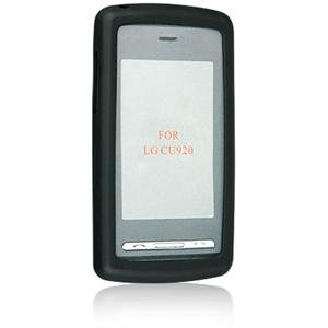 Silicone Skin Cover Case for LG VU CU915 / CU920 - BLACK
