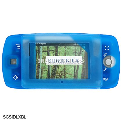 BLUE Silicone Skin Cover Case for Sidekick LX