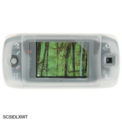 CLEAR Silicone Skin Cover Case for Sidekick LX