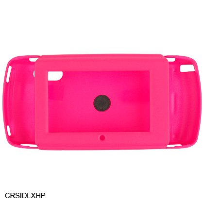HOT PINK Rubber Case for Sidekick LX