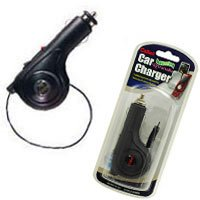 Retractable Plug in Car Charger for LG VX10000 Voyager