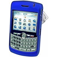 Blackberry 8300 8310 8320 Curve Hard Plastic Proguard Case - Blue