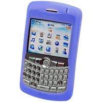 BLUE RIM Blackberry 8300 Curve Silicone Case