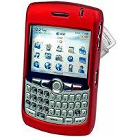 Blackberry 8300 8310 8320 Curve Hard Plastic Proguard Case - Red