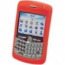 RED RIM Blackberry 8300 Curve Silicone Case
