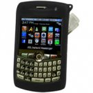RIM Blackberry 8310, 8320, & 8330 Curve Black Jelly Case