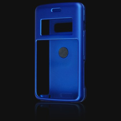 Crystal Hard Shell Shield Protector Case with Belt Clip for LG enV2 VX9100 - Blue