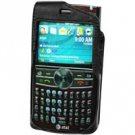 Black Elite Leather Case for Samsung Blackjack II