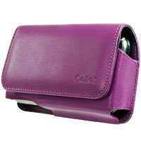 Noble Case Purple with Removable Spring Belt Clip for Samsung BlackJack II i617