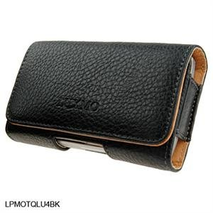 Leather Texture Pouch Case for Samsung Instinct M800 - Black