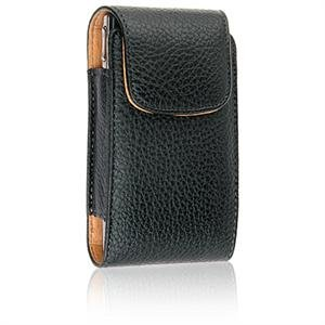 VERTICAL Leather Texture Pouch Case for SAMSUNG INSTINCT M800 - BLACK