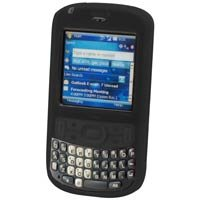 Soft Rubber Silicone Skin Cover Case for Palm Treo 800w - BLACK