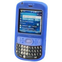 Soft Rubber Silicone Skin Cover Case for Palm Treo 800w - BLUE