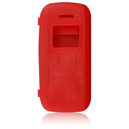 Silicone Skin Cover Case for LG enV VX9900 - Red