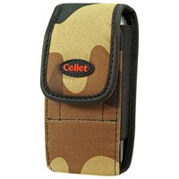Camouflage Brown & Black Pouch For LG VX9900 enV
