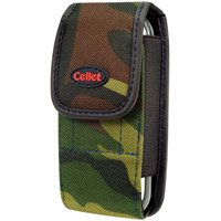 Camouflage Green & Black Pouch For LG VX9900 enV