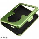 GREEN Aluminum Shield Protector Case for Apple iPod Nano 3